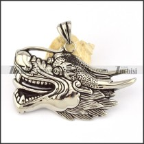 Stainless Steel dragon Pendant -p000603