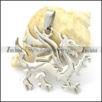 Stainless Steel Flying Dragon Pendant -p000314