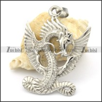 Stainless Steel the Dragon King Pendant -p000316