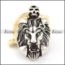 Stainless Steel Lion Skull Pendant -p000619