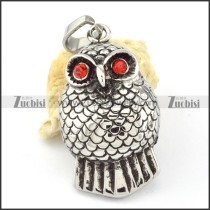 Stainless Steel Owl Pendant -p000633