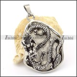 Stainless Steel Imperial Pendant -p000320