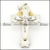 Stainless Steel Cross Pendant -p000687