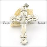 pleasant 316L Stainless Steel Cross Pendants - p000544