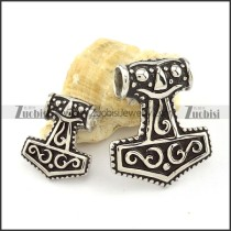 high quality 316L Hammer of Thor Pendants for couples - p000477