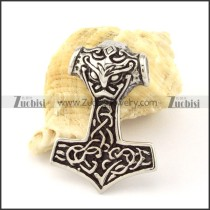 Stainless Steel Hammer of Thor Pendant -p000847