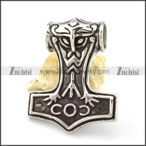 Stainless Steel Hammer of Thor Pendant -p000850