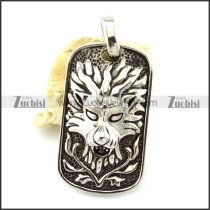 Dragon King Tag Pendant -p001123