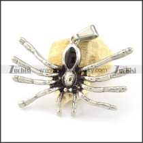 Stainless Steel Spider Pendant -p000882