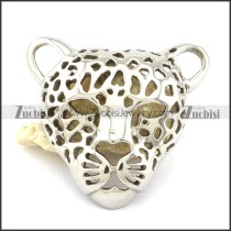 Hollow Leopard Head Pendant -p001102