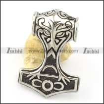 stainless steel casting pendant p001392