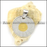 gold constellation pendant p001299