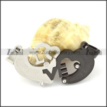 attractive Steel Heart Couples Pendants -p000943