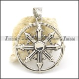 casting stainless steel pendants p001476