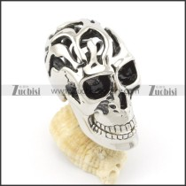 stainless steel skull pendants p001396