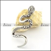 Stainless Steel water snake Pendant -p000858