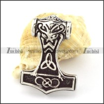 Stainless Steel Hammer of Thor Pendant -p000848