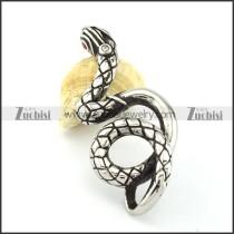 Stainless Steel Snake Pendant -p000861