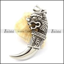 Unique Steel Lion Pendant with Affordable Wholesale Price p001044