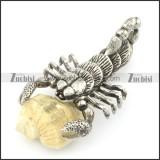 Unique Scorpion Pendant for Men p001532