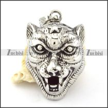 Stainless Steel Leopard Pendant -p000881