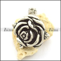 Big Casting Rose Pendant p001860