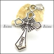 Large Cross Pendant p002061
