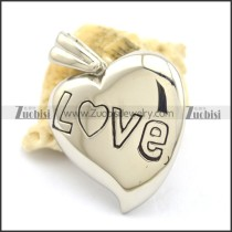 Solid Love Pendant p001865
