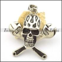 Spanner Skull Pendant p002183