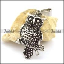 Vintage Owl Pendant p002221