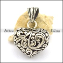 Hollow Heart Pendant p002505