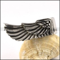 Angel Wing in Stainless Steel - r000092