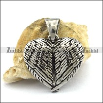 Solid Heart Pendant p002578