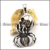 Skull Spider Pendant p002828