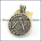 WE ARE A BAND OF BROTHERS Casting Pendant p002574