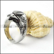 Bald Eagle Ring in Stainless Steel - r000258