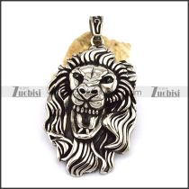Lion's Head Pendant p002778
