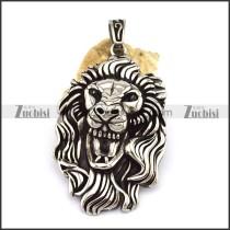 Lion's Head Pendant p002778