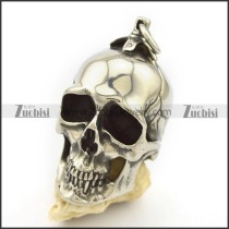 64MM Big Skull Pendant in 316L Stainless Steel Weight of 90 Grams p002478