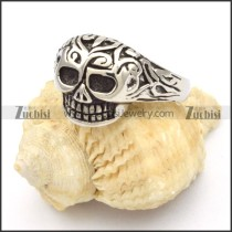 Stainless Steel Skull Rings -r000443