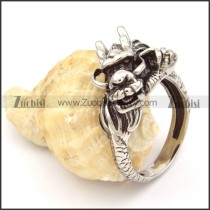 Stainless Steel Dragon Rings -r000483