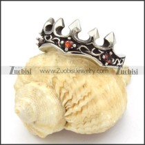 Stainless Steel Crown Rings -r000451