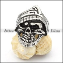 Stainless Steel Skull Rings -r000418
