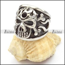 Stainless Steel Skull Rings -r000476
