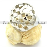 Good Craft Casting Ring in Stainless Steel -r000971