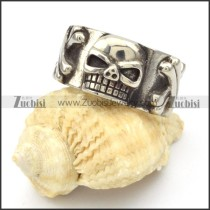 Stainless Steel Skull Rings -r000432