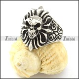 excellent Stainless Steel Rings with big sizes for 2013 collection -r000837