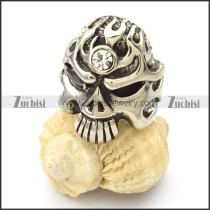 Stainless Steel Skull Rings -r000426