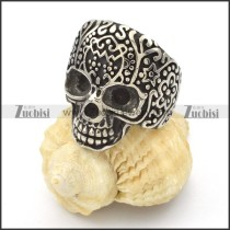 Stainless Steel Skull Rings -r000425