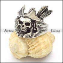 Stainless Steel Skull Rings -r000429